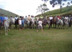 cavalgada em grupo pousada de selva
