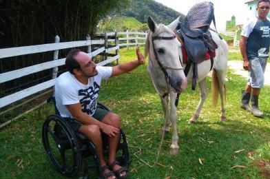 Cavalgada adaptada